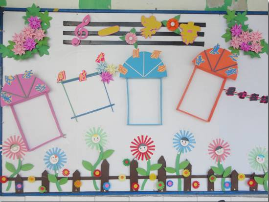 超级美的幼儿园家园共育栏环境布置!