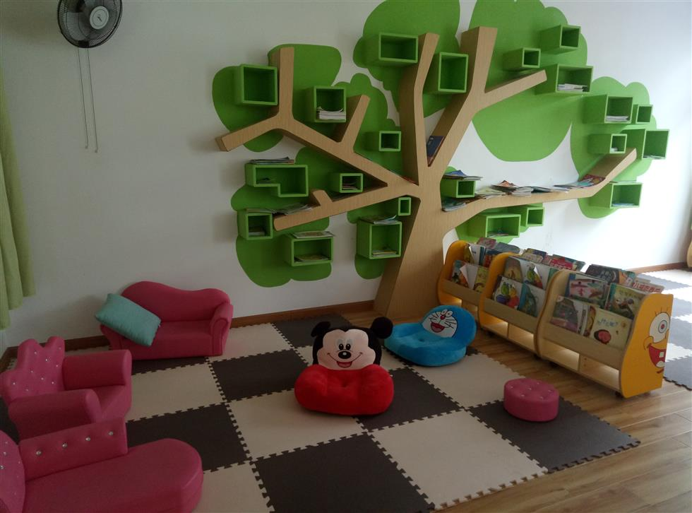 雅惠幼儿园阅读室